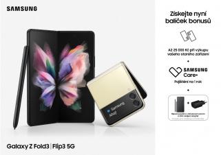 více o novince zde - Ohebný Samsung Galaxy Z Fold3 5G a Z Flip3 5G je tu! - Otevřete se novým možnostem s designem bořícím očekávání! Předobjednejte nyní...