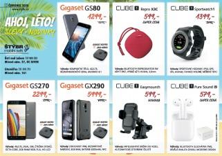 více o novince zde - AHOJ, LÉTO! SLEVY • NOVINKY - Připravili jsme pro vás na měsíc červenec vybrané telefony Gigaset...