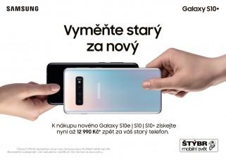více o novince zde - Vyměňte starý za nový - K nákupu nového Galaxy S10e | S10 | S10+ získejte...