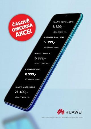 více o novince zde - BŘEZNOVÁ AKCE NA VYBRANÉ MODELY HUAWEI - Nakupovat mobilní telefony Huawei v březnu se vyplatí! Přijďte si...