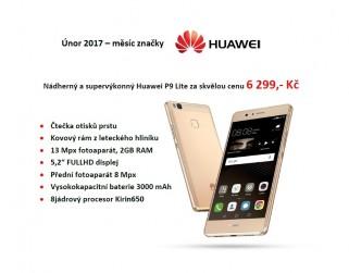 více o novince zde - Únor 2017 - měsíc značky Huawei - Platnost akční nabídky od 03.02.2017
