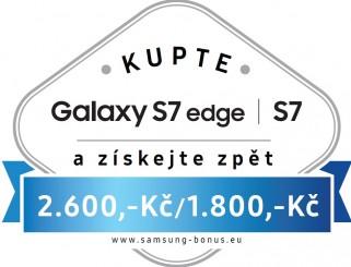 více o novince zde - Odměna za nákup Samsung Galaxy S7 nebo S7 edge - Při nákupu přístroje Samsung Galaxy S7 na našich prodejnách Vám...