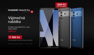 více o novince zde - VÝJIMEČNÁ ŘADA HUAWEI Mate V ÚNORU VÝHODNĚJI - Únor patří Huawei! Špičkové telefony řady Huawei Mate u nás...