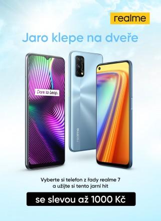 více o novince zde - Užijte si tento jarní hit! - Pořiďte si krásný telefon z nové řady Realme 7 se...