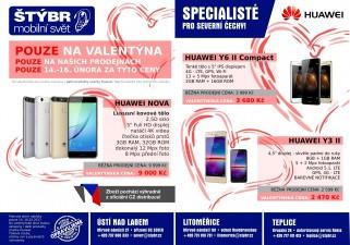více o novince zde - Pozor, tajné..... Valentýnská akční nabídka Huawei!!!!!! - Připravili jsme pro vás tajnou akci, která se nebude opakovat....