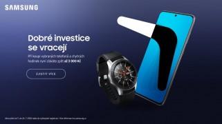 více o novince zde - Oblíbená akce je zpět! DOBRÉ INVESTICE SE VRACEJÍ. - Při koupi vybraných telefonů, tabletů a chytrých hodinek Samsung získáte...