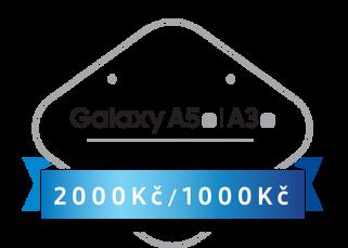 více o novince zde - Kupte si skvělý Samsung Galaxy A3 (2016) nebo Samsung Galaxy A5 (2016) a získejte až 2000 Kč zpět! - Při nákupu přístroje Samsung Galaxy A3 (2016) Vám bude vráceno...