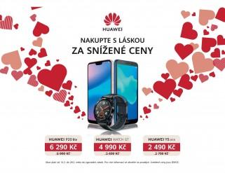 více o novince zde - NAKUPUJTE S LÁSKOU ZA SNÍŽENÉ CENY ♥ - Zamilujte se do vybraných produktů Huawei, na našich prodejnách nyní...